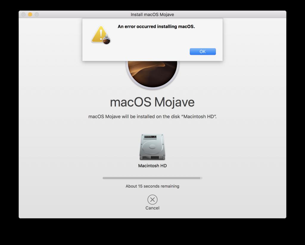Допомога в встановленні macOS