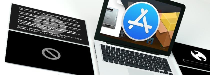 Відновлення macos. Збереження файлів, даних та встановлення программ