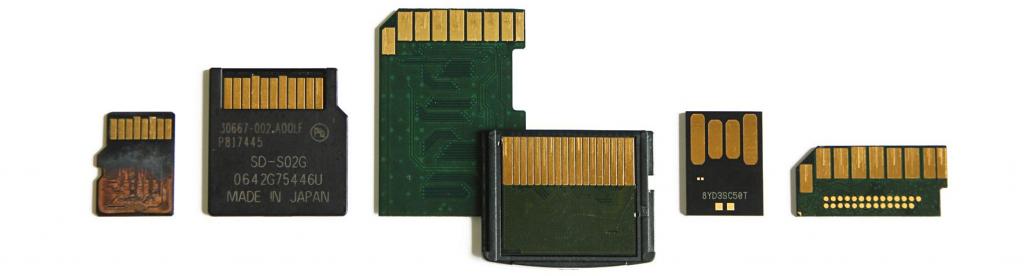 Відновлення даних з суцільнолитних (монолітних) флешок та карт пам'яті