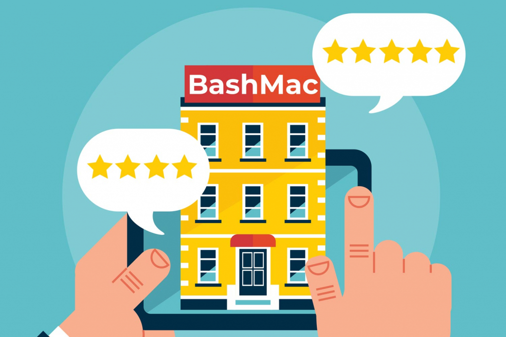 Знижка за відгук про сервіс BashMac 20%