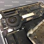 Чистка MacBook Pro Retina курця