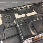 Чистка MacBook Pro Touch Bar