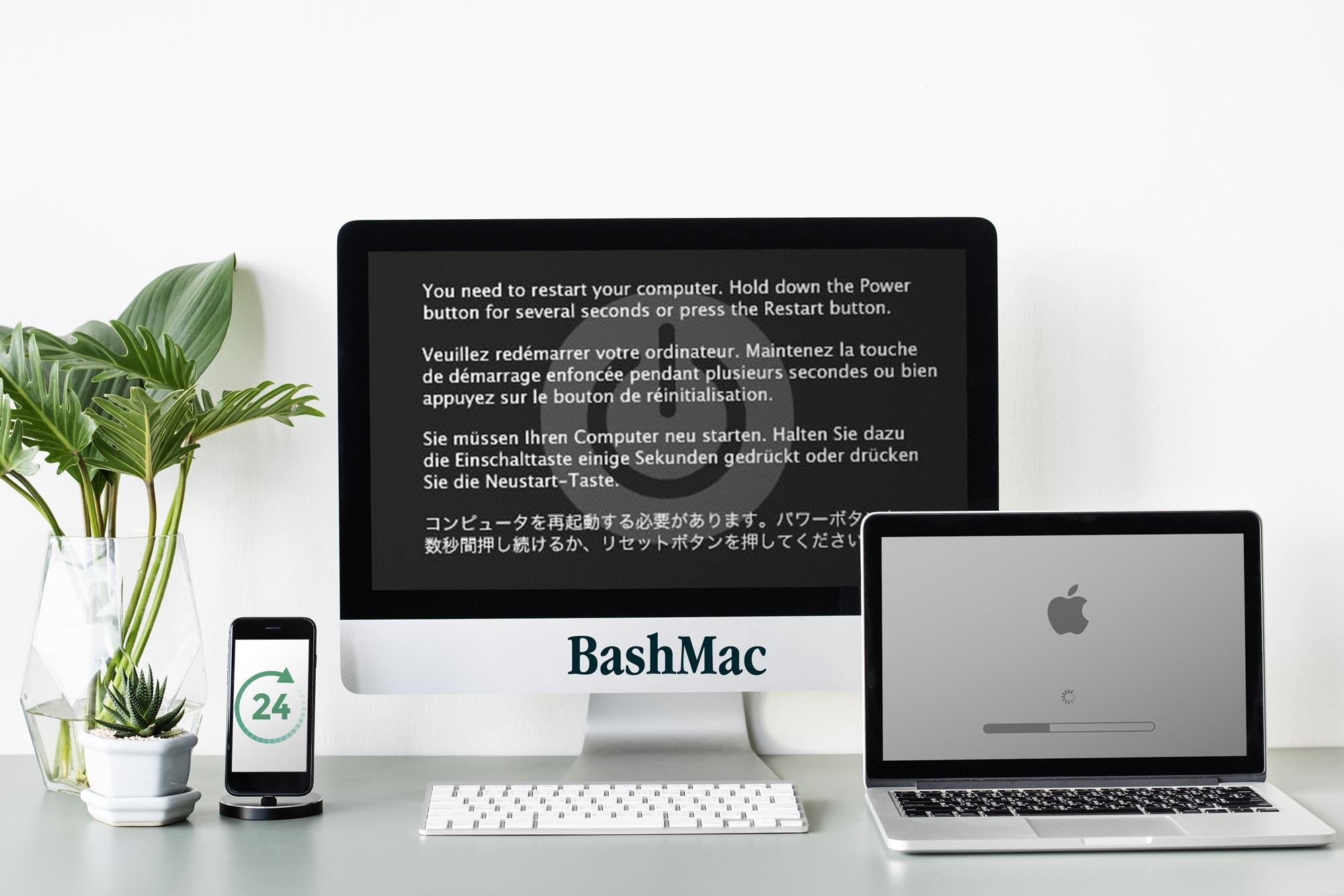 Не вмикається, не завантажується MacBook