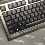Лазерне гравіювання на клавіатурі