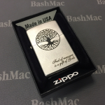 "Zippo 1941 ""1941 REPLICA"" brushed chrome"