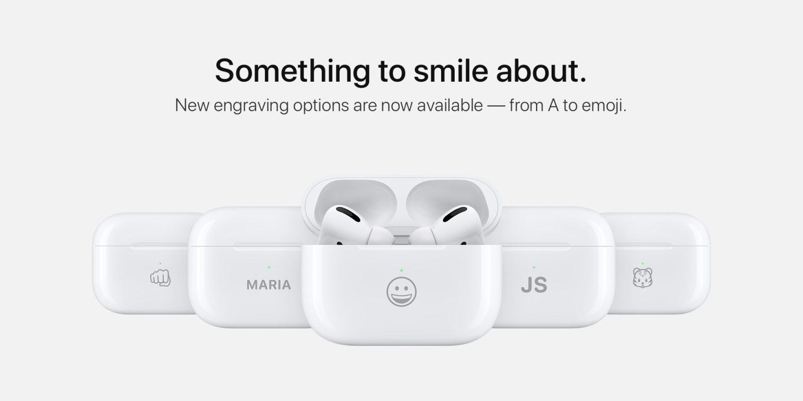 Офіційна гравіровка на AirPods Charging Case від Apple