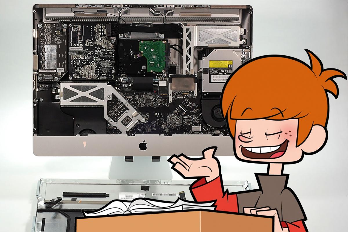 Чому не варто замовляти ремонт iMac на дому