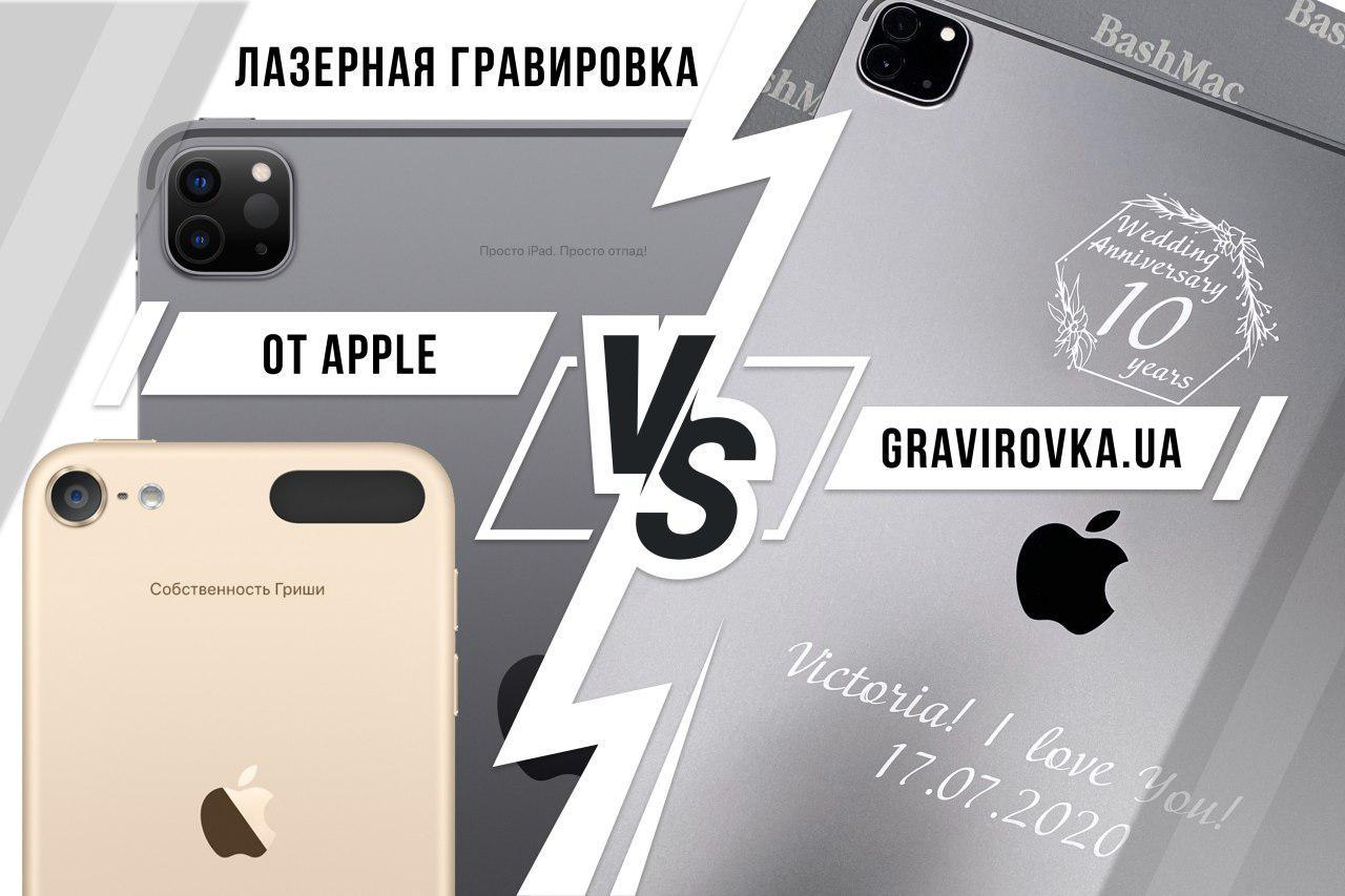 лазерне гравіювання від Apple