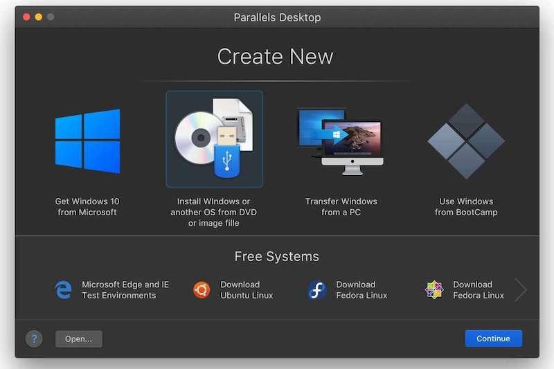 Встановлення Windows на MacBook M1 через Parallels-Desktop-16